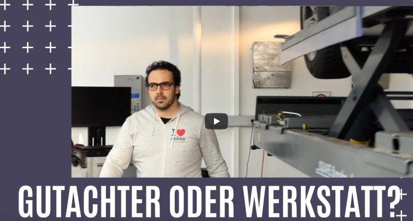 KFZ-Gutachter oder Werkstatt bei Unfall?