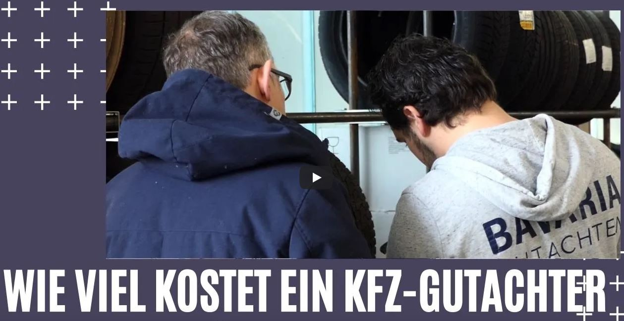 Wie viele kostet ein KFZ-Gutachter in München?